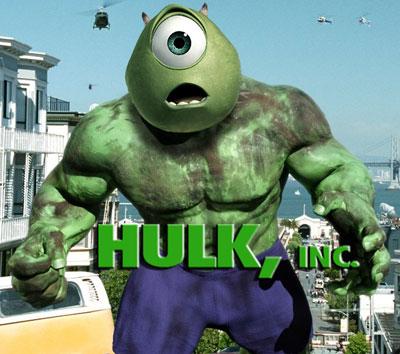 Disney compra a Marvel HulkInc