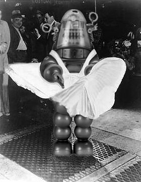It's Marylin Monrobot innit!
